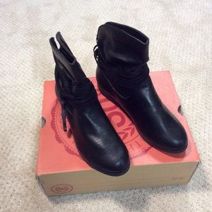 SO Black Boots Size 7  new with Box